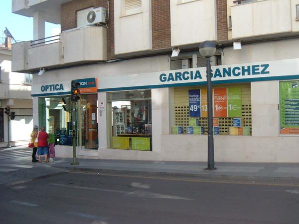 ÓPTICA GARCÍA SÁNCHEZ