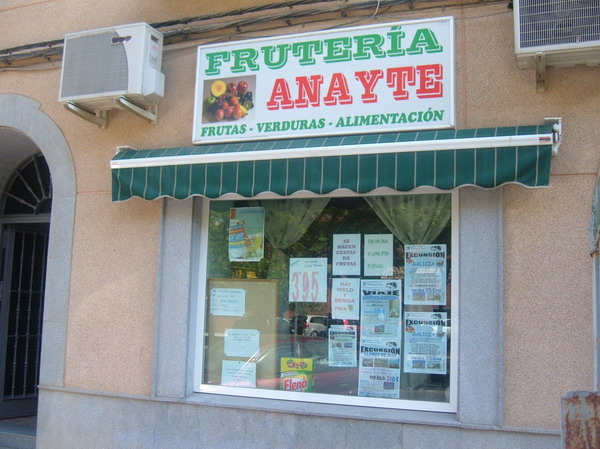 FRUTERÍA ANAYTE