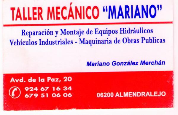 TALLER MECÁNICO MARIANO