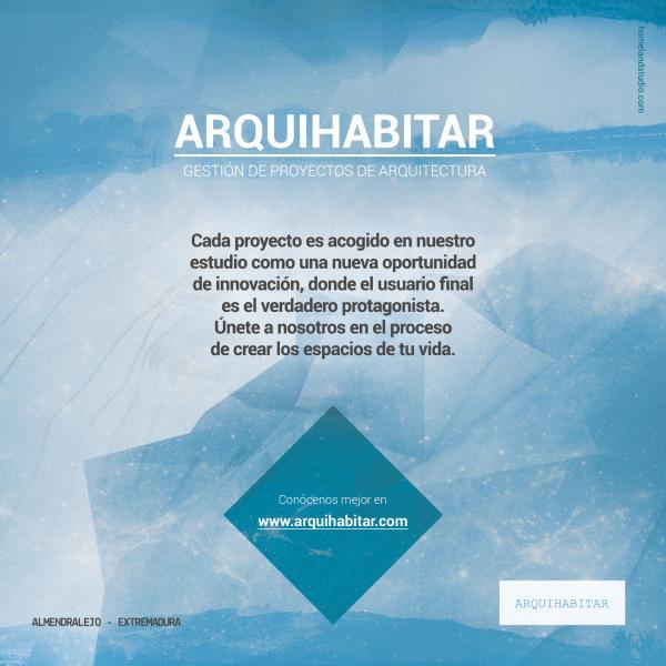 ARQUIHABITAR - GESTIÓN DE PROYECTOS DE ARQUITECTURA