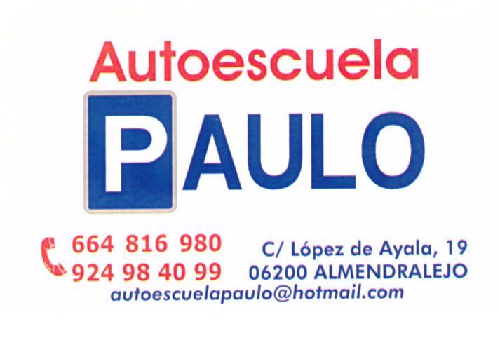 AUTOESCUELA PAULO