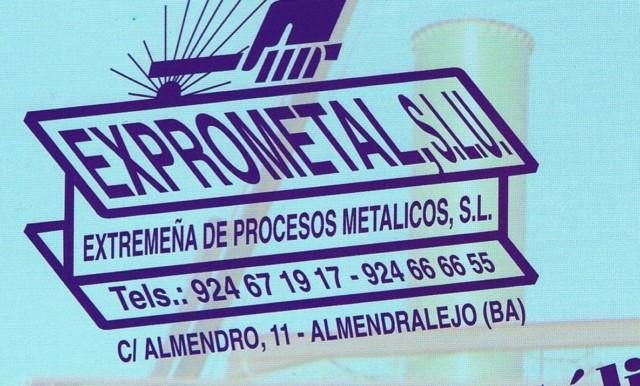 EXTREMEÑA DE PROCESOS METÁLICOS, S.L.U.