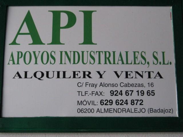 API APOYOS INDUSTRIALES, S.L.
