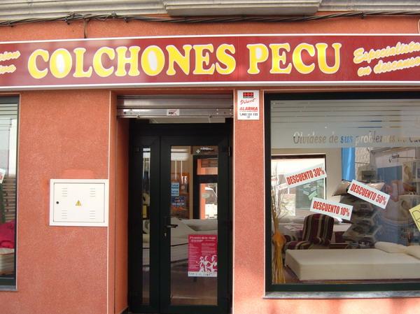 COLCHONES PECU