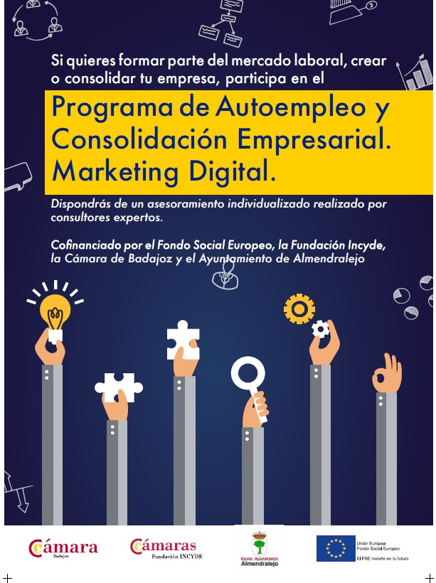 Programa de formación gratuito: Marketing Digital y Emprendimiento